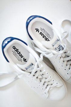 - adidas - white sneakers