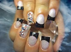 Smoke Show- Nail Art Gallery by NAILS Magazine #Christmas #thanksgiving #Holiday #quote