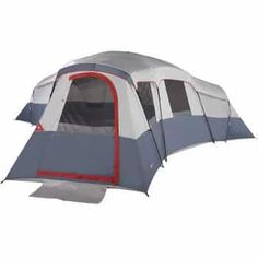Ozark Trail Cabin Tent Outdoor Camping 20 Person 4 Room 3 Separate Entrances for sale online Best Tents For Camping, Camping Games, Camping Equipment, Family Camping, Tent Camping, Camping Gear, Outdoor Camping, Outdoor Gear, Camping Storage