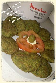 Spinacine morbide in crosta delicata (NO UOVA) - Cuisine Companion Moulinex - CuCo