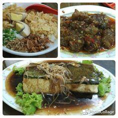 Bubur Ayam Cafe 55. Jl. Manyar Kertoarjo. Sebelah Samsat. Recommend 👍.