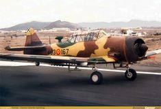 AviationCorner.net - Aircraft photography - North American T-6D Texan Spanish Air Force, Ww2 Planes, Army & Navy, Aviation Art, Show Photos, Texans, Military Aircraft, World War Ii, Fighter Jets