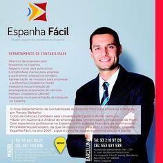 A Espanha Fácil além de assessorar a você como pessoa física preparando toda a documentação necessária para a realização de qualquer processo de  Legalização Intercâmbio ou Turismo aqui na Espanha agora estamos lançando esta novidade: um Departamento de Assessoria à Empresas ( empresários autônomos ). #EspanhaFacilParaEmpresas  Então seja qual for sua necessidade entre em contato conosco estaremos encantad@s em lhe atender! ----------------------------------------------------  Central de…