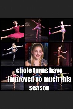 I think Chloe's turns were always great! Dance Moms Facts, Dance Moms Dancers, Dance Mums, Dance Moms Chloe, Dance Moms Girls, Dance Moms Comics, Dance Moms Confessions, Big Drama, All About Dance