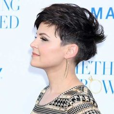 Amazing and Charming Pixie Minimize with Wonderful Little Spikes and Effectively-trimmed Sides and Back