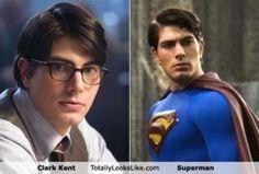 TLL Classics: Clark Kent Totally Looks Like Superman