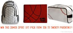 Enter to win this sports gift pack from Zumer Sport! Made from REAL sport ball material, the gift pack is perfect for the guy in the family!