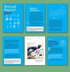 Interactive Annual Report Layout - image | Adobe Stock