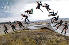 This tuck knee #backflip by David Gravette featured in the June 2012 issue of Transworld #Skateboard Mag.