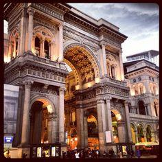 Milan, Duomo, Galleria Vittorio Emanuele