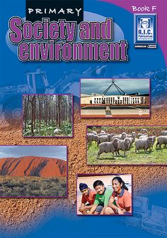 Curriculum linked. Primary Society and Environment book for Australian teachers of year 6 students.