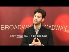 Josh Rouah (WICKED, GREASE) tells you how to audition with confidence  www.broadwayuonline.com