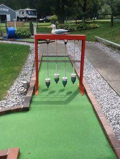 Mini Golf Near Me, Backyard Games, Outdoor Games, Lawn Games, Outdoor Ideas, Backyard Ideas, Outdoor Fun, Garden Ideas, Putt Putt Golf