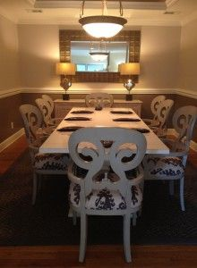 Skidaway Island House Dining Room