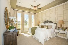 Everything's Included by Lennar, the leading homebuilder of new homes for sale in the nation's most desirable real estate markets. Master Suite, Master Bedroom, New Homes For Sale, Real Estate Marketing, Valance Curtains, Building A House, Sweet Home, Layout, Luxury