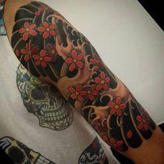 cool Top 100 half sleeve tattoos - http://4develop.com.ua/top-100-half-sleeve-tattoos/ Check more at http://4develop.com.ua/top-100-half-sleeve-tattoos/