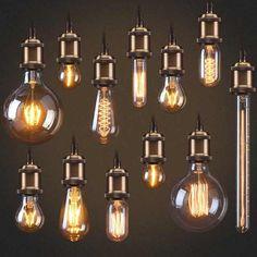 Lights & Lighting E27 String Bulb Light Retro Art Design Edison Style Filament Copper Wire Starry Light G80 Bulb Multicolor/white/warm White Party Commercial Lighting