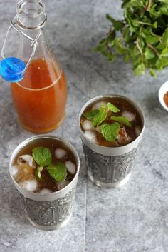 AAM PANNA - Raw Green Mango Cooler sweetened with jaggery powder for a healthy drink.