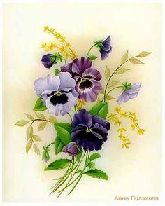 Gallery.ru / Фото #57 - Анютины глазки или Viola tricolor - Anneta2012
