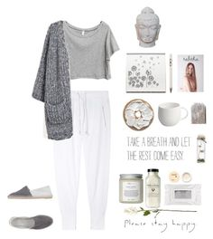 """Stay Happy ♡˪"" by ampie-jessica ❤ liked on Polyvore featuring Isabel Marant, Alessi, Stila, Korres, Très Pure, Linea, Castañer and Puji"