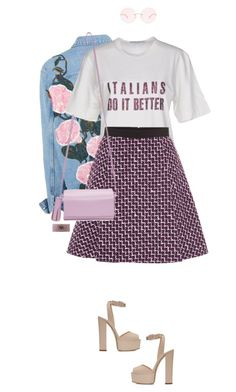 """*1752"" by cutekawaiiandgoodlooking ❤ liked on Polyvore featuring Dolce&Gabbana, Giambattista Valli, Building Block, Giuseppe Zanotti, Karen Walker, Chanel, blockheels and slogantshirts"