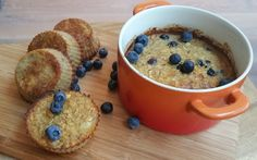 Organic Blueberry Oatmeal Muffins   Perfect and healthy way to start your day!   INGREDIENTS 1 cup organic blueberries  2 eggs 2 cups oatmeal 2 bananas 1 teaspoon baking powder  INSTRUCTIONS Preheat oven to 425 F. Line standard muffin pan with 12 liners and set aside. Mash bananas with a fork in a bowl.  Then beat in the egg and add the oatmeal, baking powder and mix well. Divide the batter into the muffin pan and bake for 15 minutes.  #organic #blueberries #healthy #breakfast #natureandmore