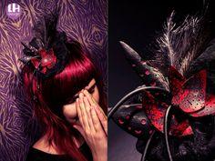 """Fascinátor """"Bride of the monster"""" Lenky Houtke"""