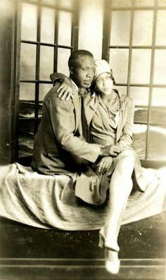 Vintage Beautiful Black Couple