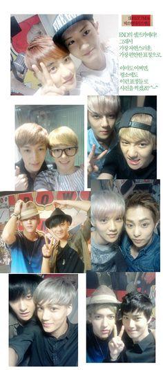 Look at them cuties bro~ keke i would always treasure their selcas together~ keke loving it bro~