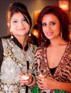 With Gourmet Dessert Sponsor, Zehra Khan