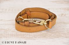 Louis Vuitton Leather Strap For Keepall Bandouliere 45, 50, 55, 60