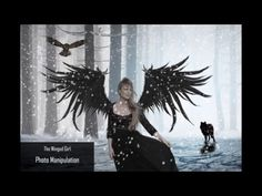 Photoshop Tutorial - Photo Manipulation - The Winged Girl