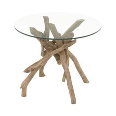 Ventura Glass End Table