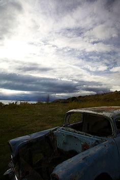 derelict car, Argentina