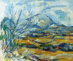 Cezanne - Montagne Sainte Victoire - Avant cubisme