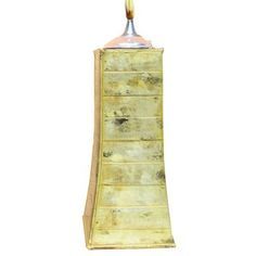 Pyramid Tabletop Metal Tiki Torch / Oil Lamp - Antique Marble by Legends Tiki Lifestyle. $29.99. These striking all-weather zinc tabletop oil torches compliment any outdoor setting with their colorful glazes and classic styling.  Available in Antique Copper, Antique Marble, Orange, Red and Jungle.. Save 33%!