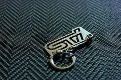 Wrx, Impreza, Key Tags, Spring Steel, Subaru, Key Chain, Stainless Steel, Gift, Pallet Lounge