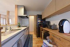 広々キッチンで家事も楽々