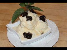 Crème glacée à la vanille - YouTube Chefs, Sorbets, Pudding, Make It Yourself, Cake, Desserts, Food, Youtube, Dessert