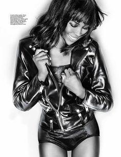 Naomi Campbell Poses for Gan in Harpers Bazaar Singapore January 2014