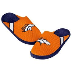 100d9d818a6b These Denver Broncos Jersey Slippers come in team colours and feature  embroidered Denver Broncos images. They re also have a TPR underside using  a foam fill ...
