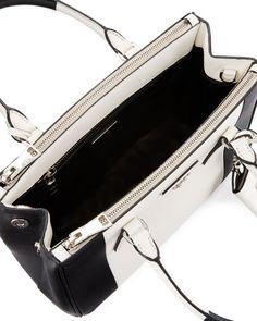 23eebf2940 Bicolor Saffiano Lux Tote Bag