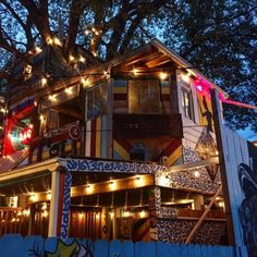 Have you ever wanted to eat in a treehouse? Now you can!