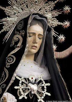 La Dolorosa. Exposicion de Pasos de la Semana Santa de Huesca. 2009