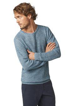Pullover aus reinem Leinen von hessnatur. Toller Look für Herbsstypen - Freizeit Look.