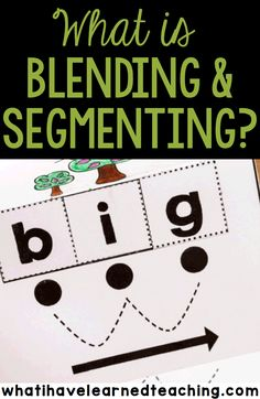 Why do we teach students to blend and segment words? Blending and segmenting are foundational reading skills for every child. How do you teach blending and segmenting? Continue reading -->