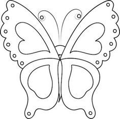 Free Printable Butterfly Template  Collage  Scrapbooking