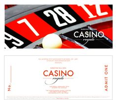 Casino Royale - OCU Barristers' Ball Invitation by maliburachel, via Flickr