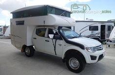 2012 Talvor Mitsubishi Triton 4WD Outback Camper