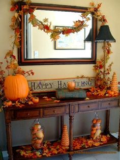Entry decorating
